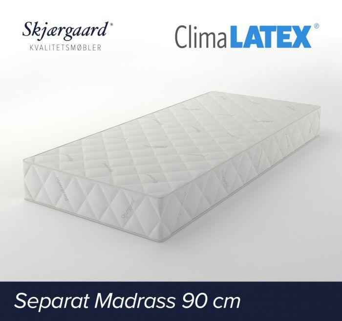 Separat Ludvig hovedmadrass 90x200x21- medium