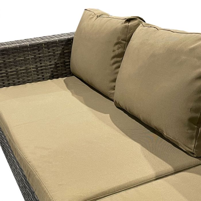Cameo Brown putetrekk - Sett for komplett Beach daybed