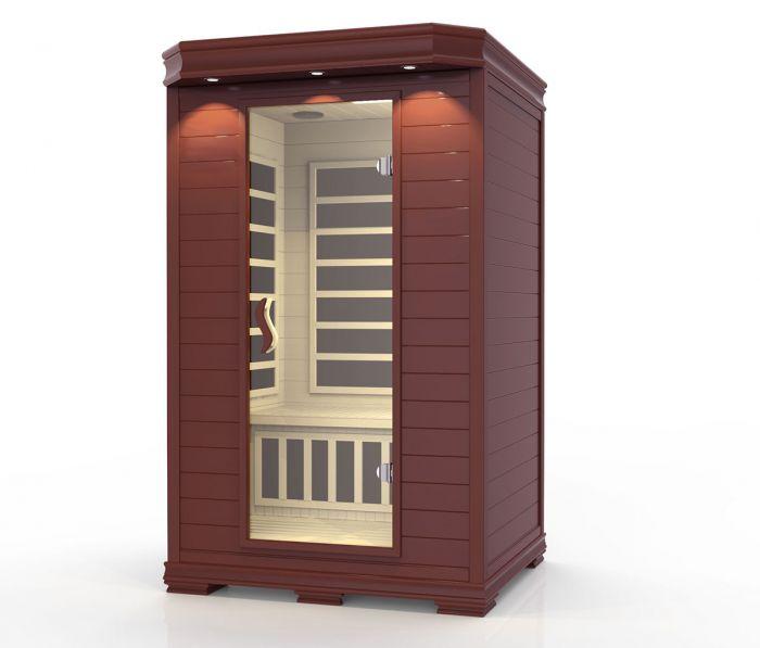Arktis sauna mørk, 2 personer
