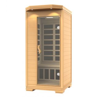 Finse sauna lys, 1 person