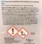 Spatime Klor-granulat 1 kg