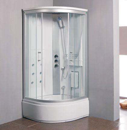 Maja massasjedusj/badekar 90x90 klare glass uten strøm