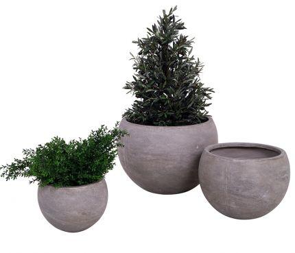 Aveiro - Sett med tre potter S/M/L